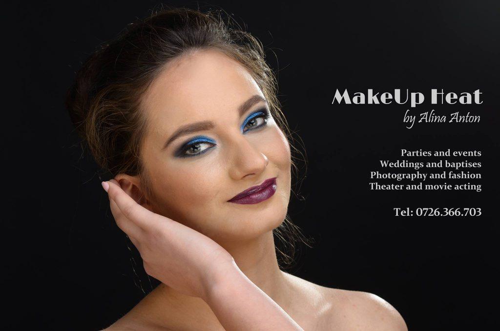 Makeup Heat Alina Anton Makeup Artist Machiaj Banana Inchisa